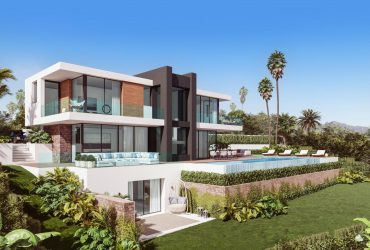 Contemporary villa under construction – La Paloma